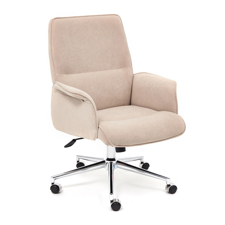 Кресло ТС 64х45х128 см флок бежевый кресло tc натуральный бежевый 65х56х77 см