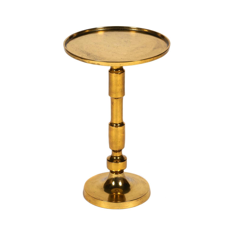 Столик кофейный SDM 32x32x52 см алюминиевый сплав античная медь сковорода d 24 см kukmara кофейный мрамор смки240а