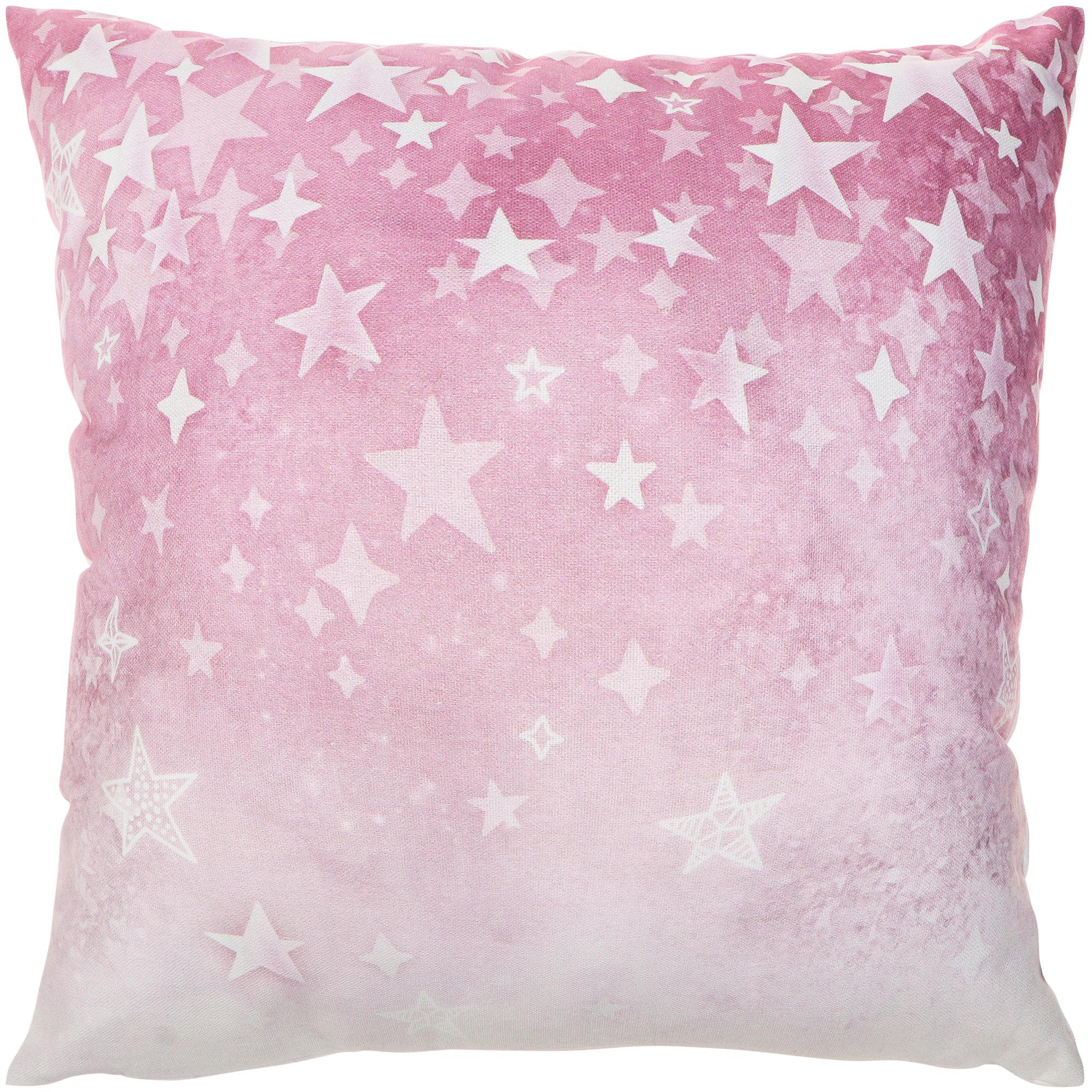 Декоративная подушка Togas Трейси розовая 45х45 см