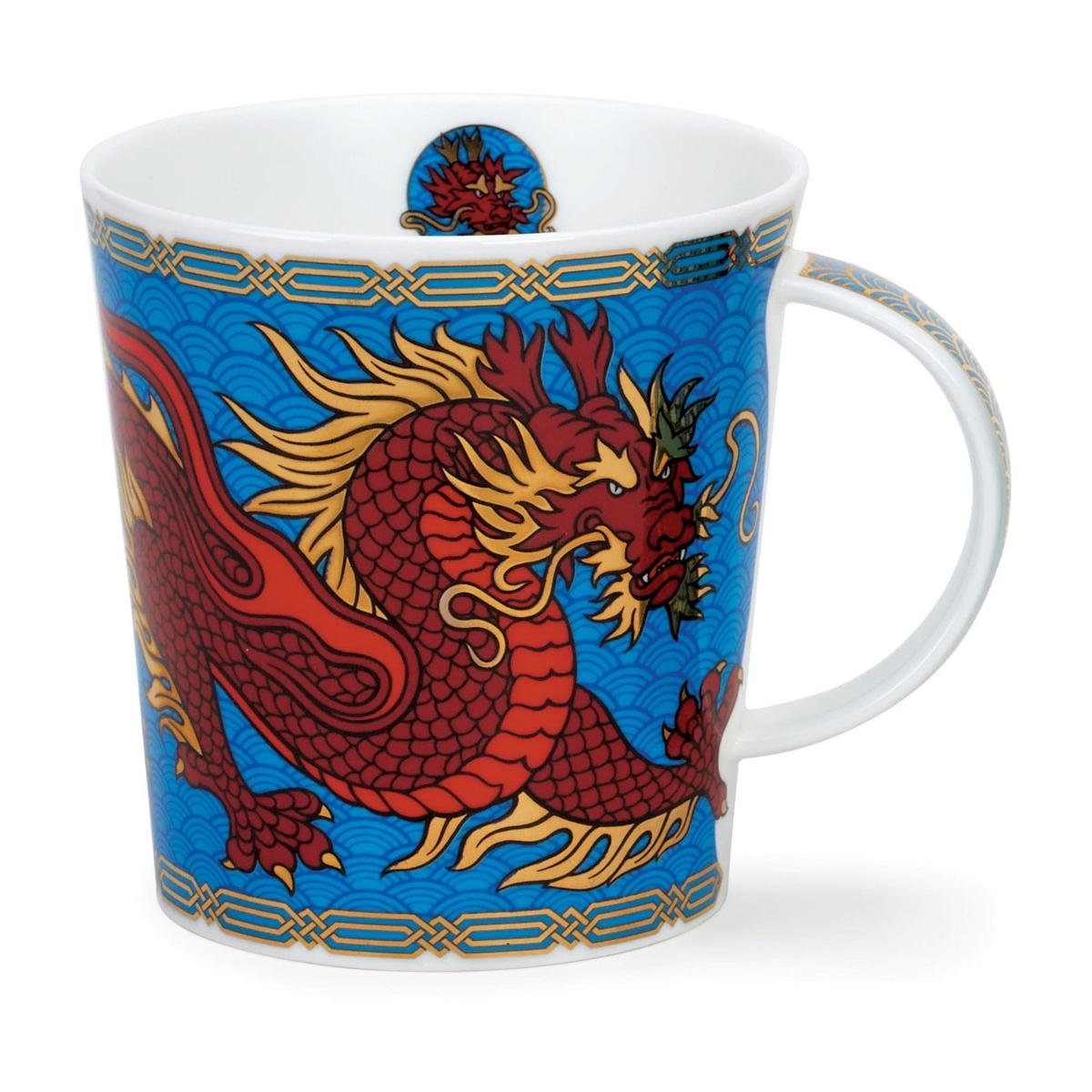 Кружка Dunoon Дракон. Ломонд 320 мл (синяя)