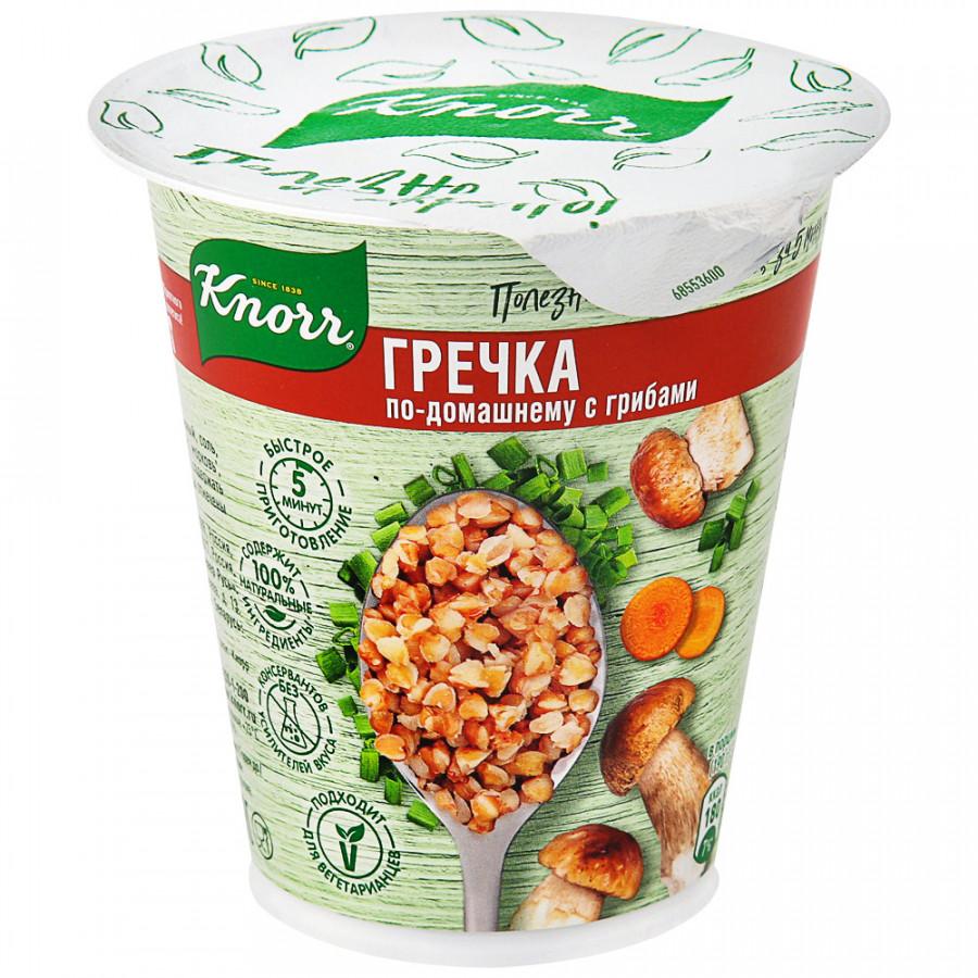 Каша Knorr моментального приготовления Гречка по-домашнему с грибами, 50 г