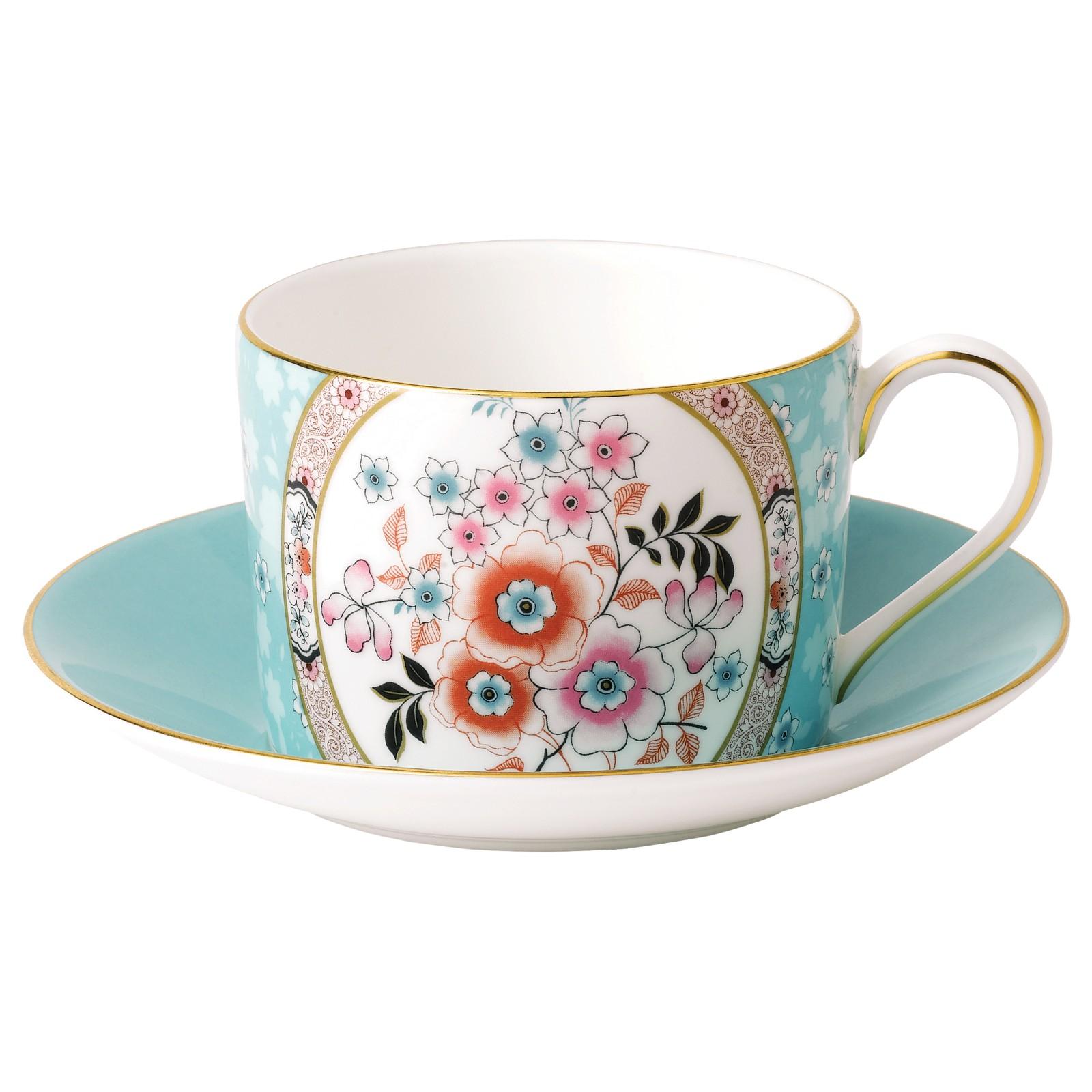 Фото - Чайная пара Wedgwood Wonderlust Камелия 150 мл чайная пара mercury 150 мл керамика