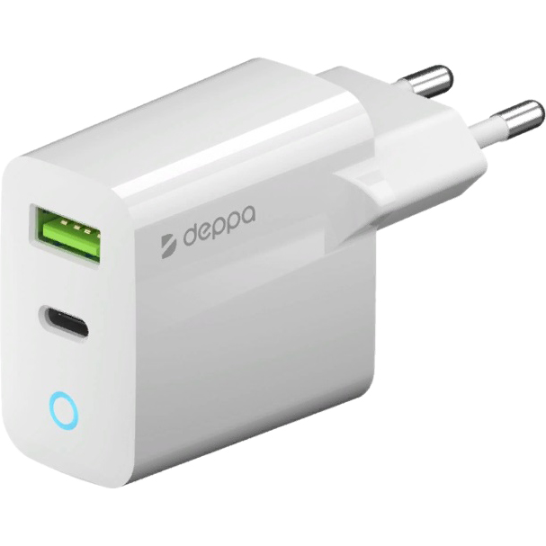 Фото - Сетевое зарядное устройство DEPPA 11398 белый зарядное устройство sonnen bc2