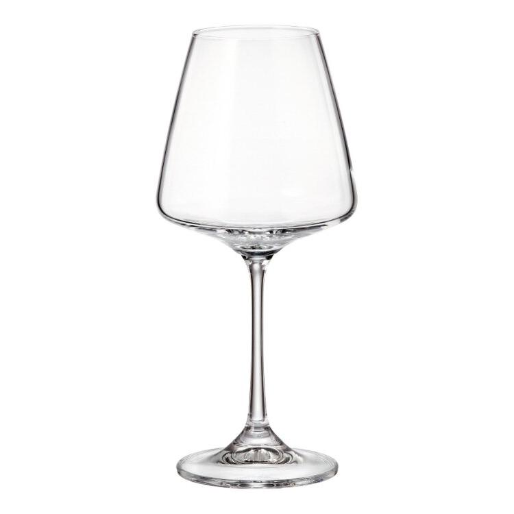 Фото - Набор бокалов для красного вина Crystalite Bohemia Corvus 360 мл 6 шт набор бокалов первый мебельный набор бокалов для вина crystalite bohemia ardea amundsen 450мл 6 шт