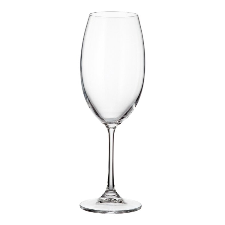 Фото - Набор бокалов для белого вина Crystalite Bohemia Milvus 400 мл 6 шт набор бокалов первый мебельный набор бокалов для вина crystalite bohemia ardea amundsen 450мл 6 шт