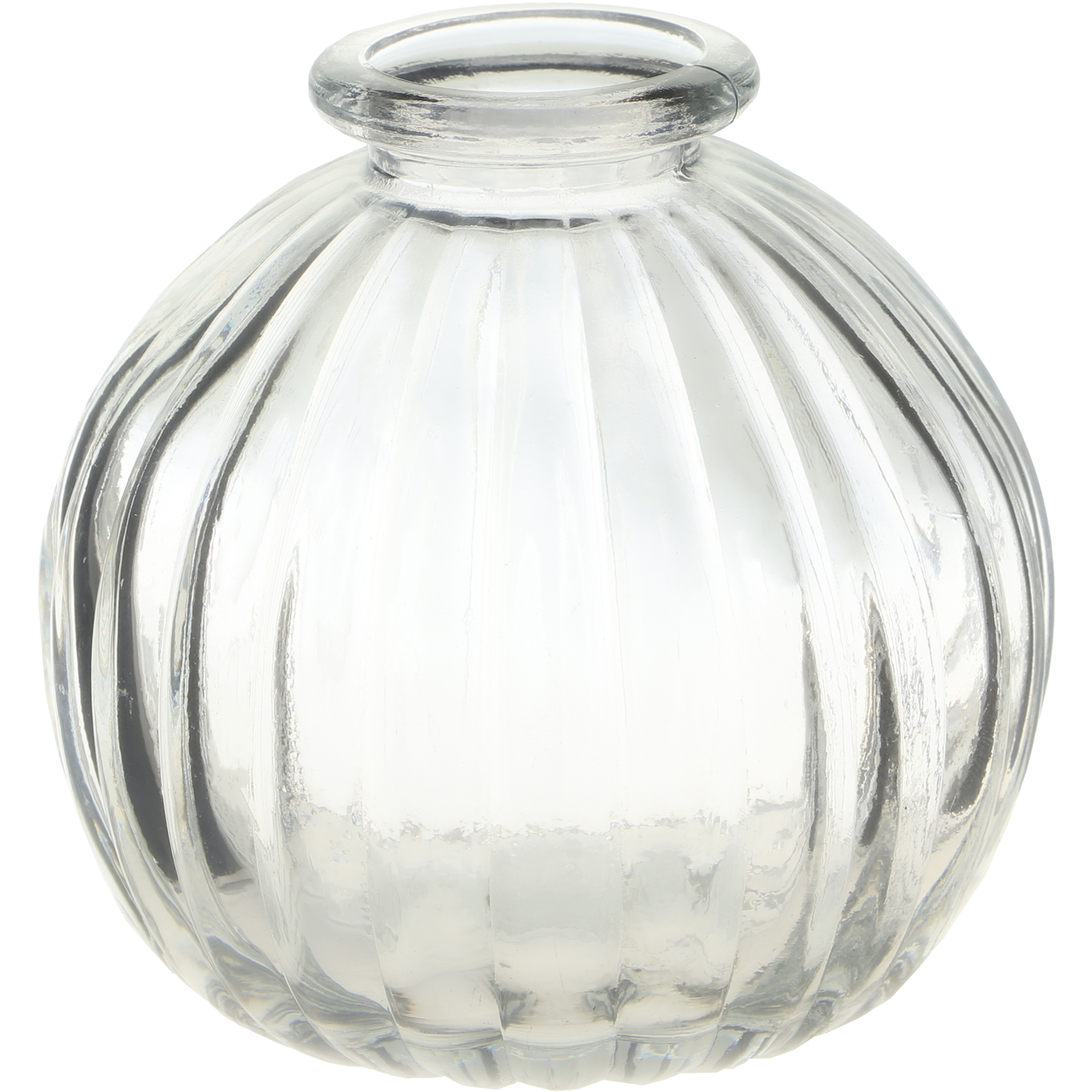 Ваза стеклянная Hakbijl Glass Mini Vase прозрачная 8,5х8 см