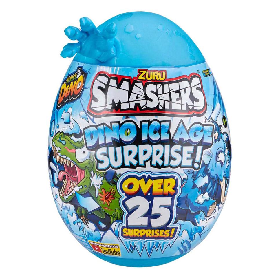 Игровой набор детский Zuru Smashers Гигантское яйцо динозавра Ледниковый период бейсболка dc shoes smashers camo rrp6 o s