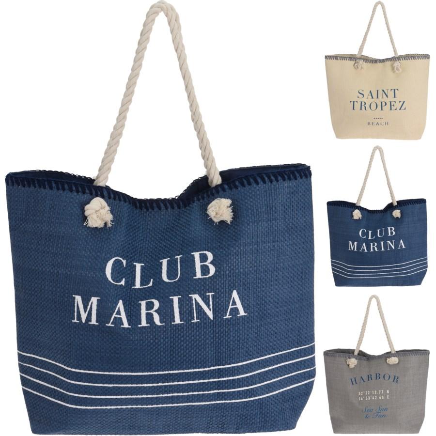 Фото - Сумка пляжная Koopman club marina 51х40см сумка холодильник koopman синяя 26х13х25 см