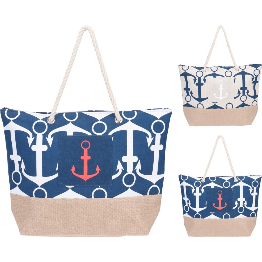 Фото - Сумка пляжная Koopman anchor 38x14xh38cm сумка холодильник koopman синяя 26х13х25 см