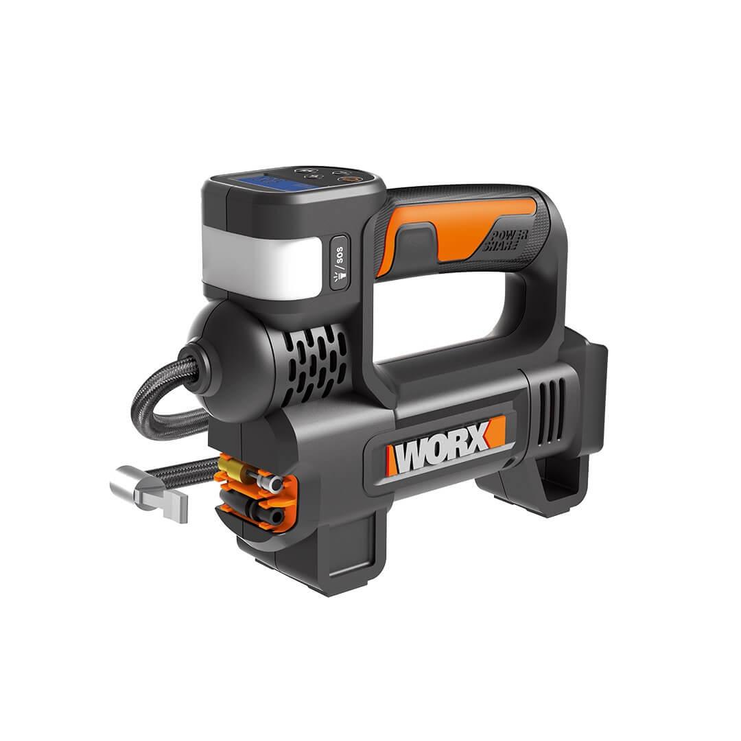 Насос аккумуляторный с фонарем WORX WX092.9 20В, без АКБ и ЗУ