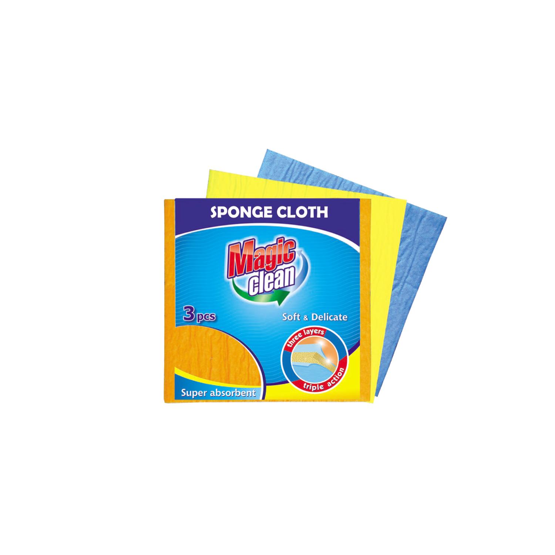 Фото - Набор салфеток для уборки Magic Clean 3 шт набор салфеток opti clean для оптики влажные 20шт