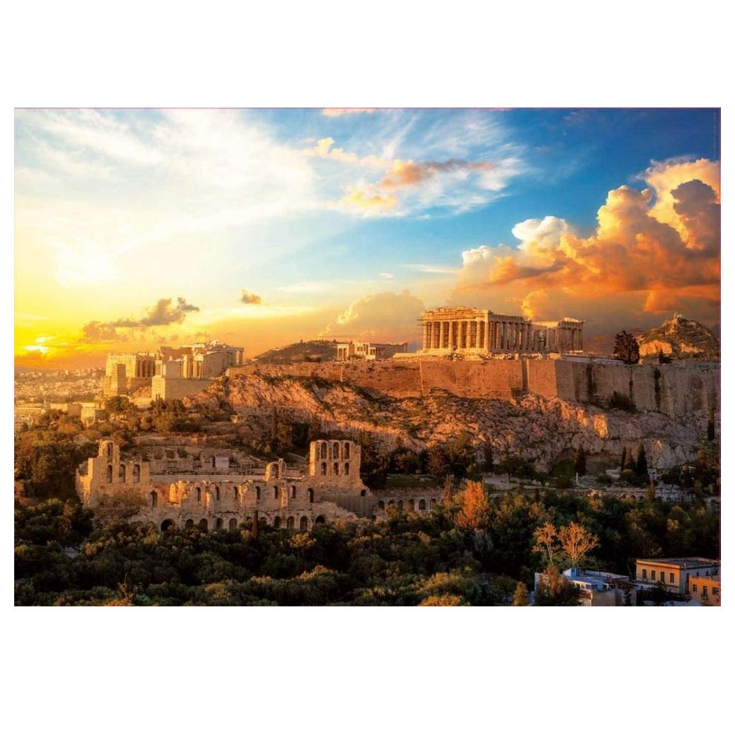 Фото - Пазл Educa 1000 деталей Афинский Акрополь пазл educa мир банкнот 1000 деталей