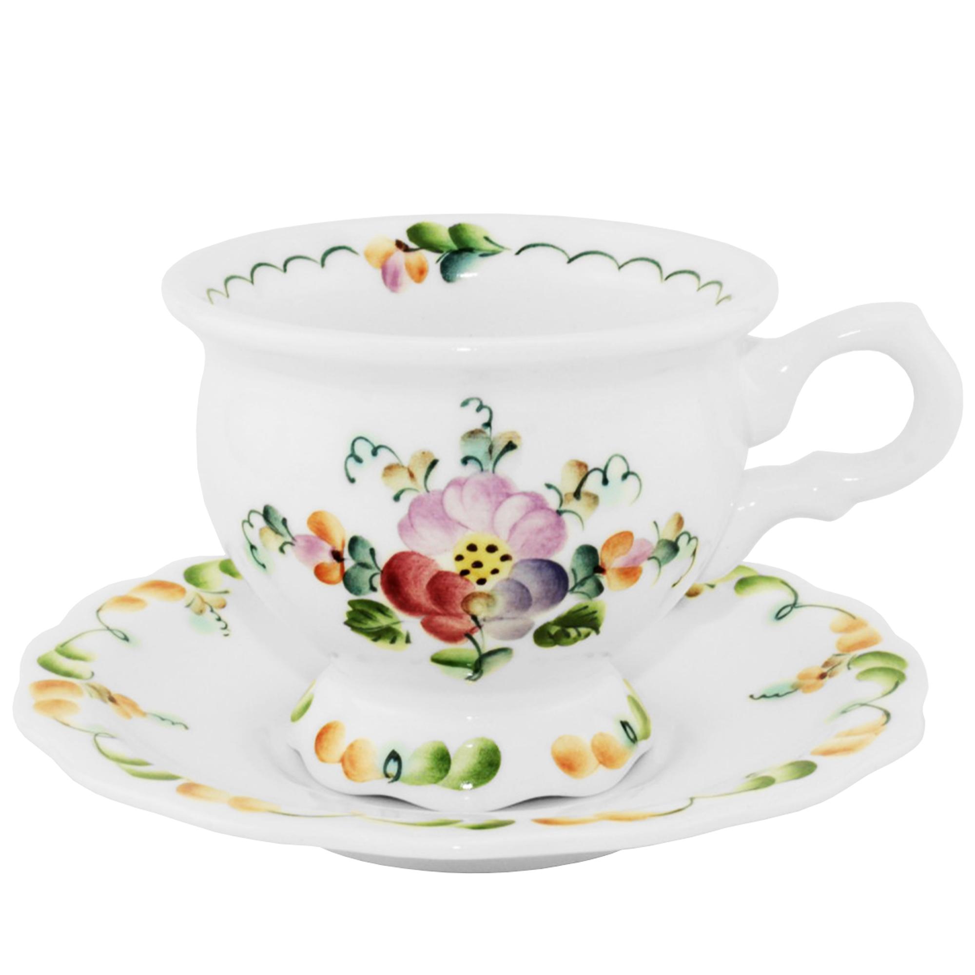 Фото - Пара чайная Анастасия Семикаракорская керамика 240 мл чайная пара mercury 150 мл керамика