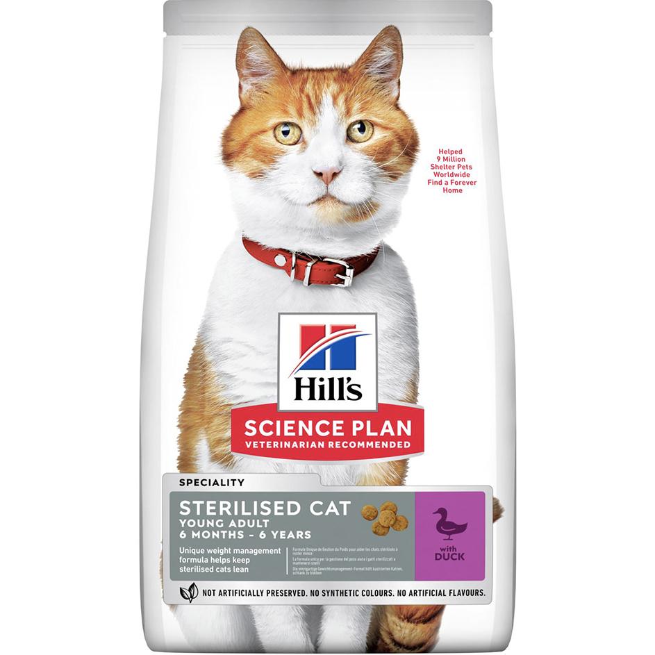 Корм для кошек Hill's Для стерилизованных до 7 лет утка 300 г