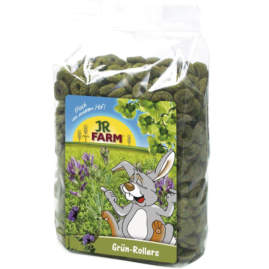 Лакомство JR FARM Зеленые колечки для грызунов 500 г jr farm 04886 зеленые колечки 500г