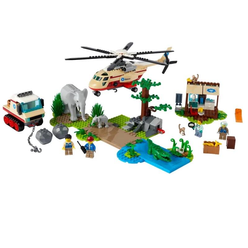 Игрушка Lego Операция по спасению зверей