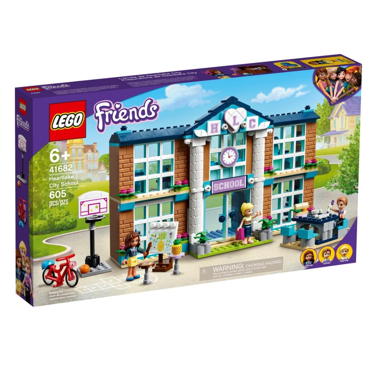 Игрушка Lego Школа Хартлейк Сити