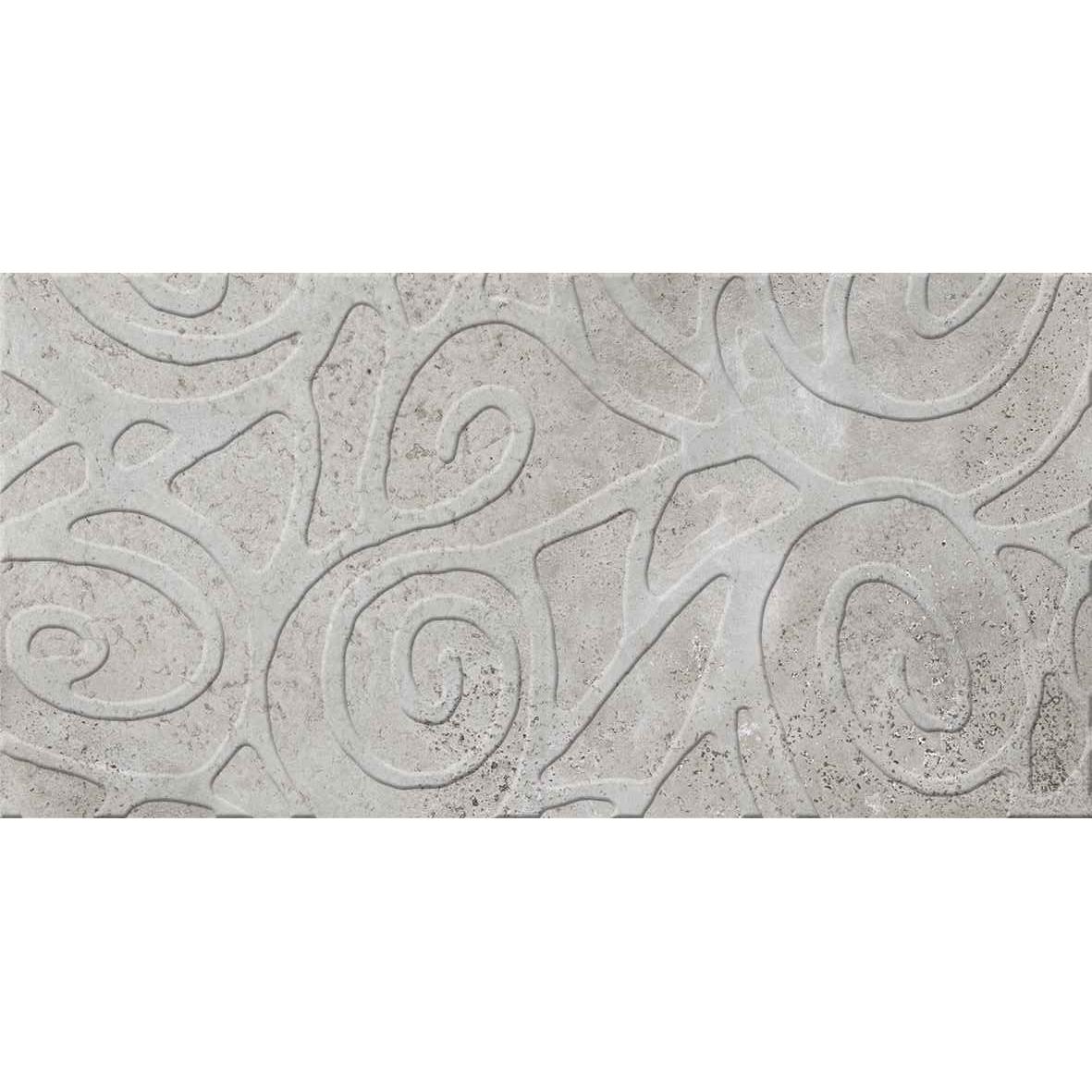 Декор Ceramiche Brennero Explora & Dekora Silver 60x120 см