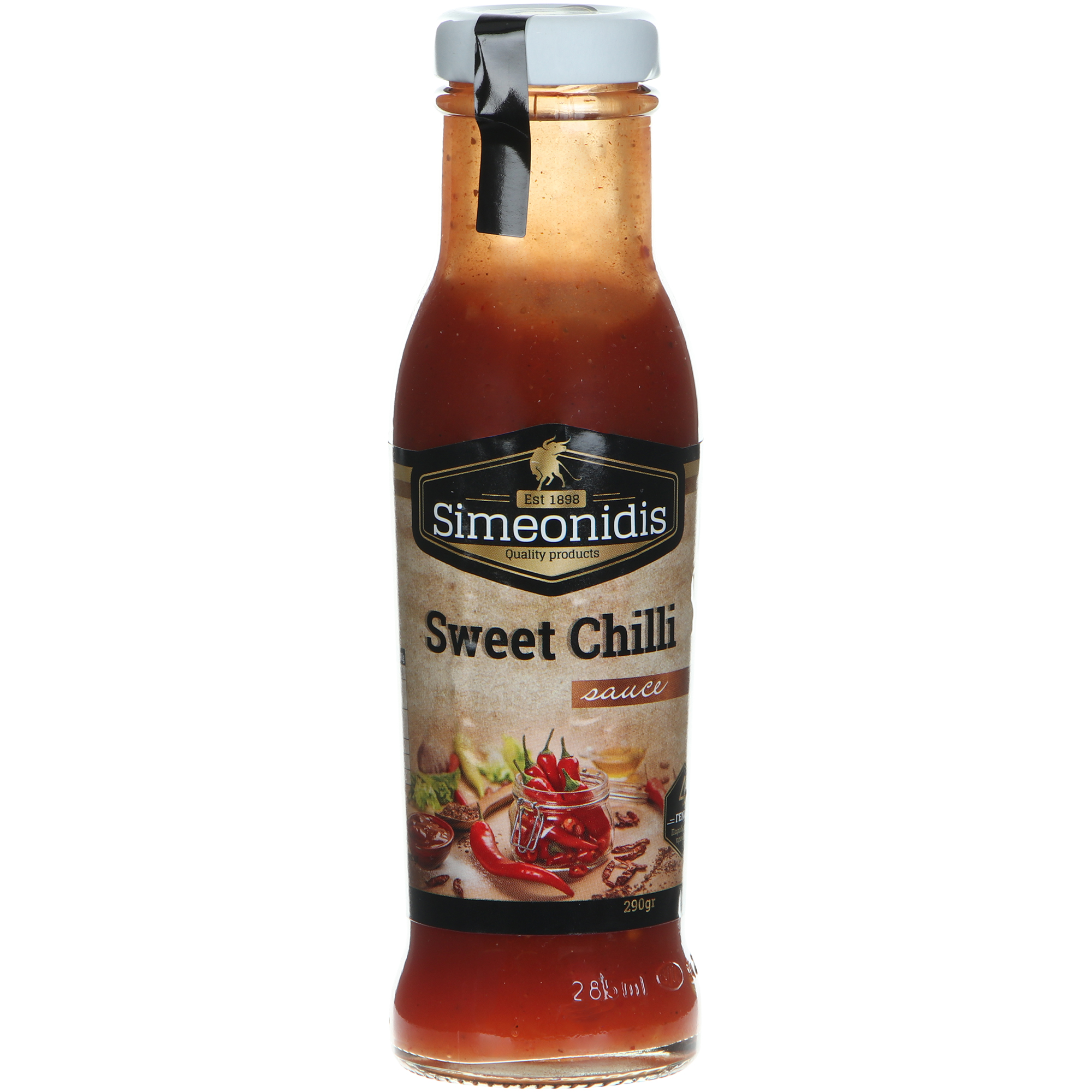 Соус Simeonidis сладкий чили, 290 г соус чили simeonidis 290 г