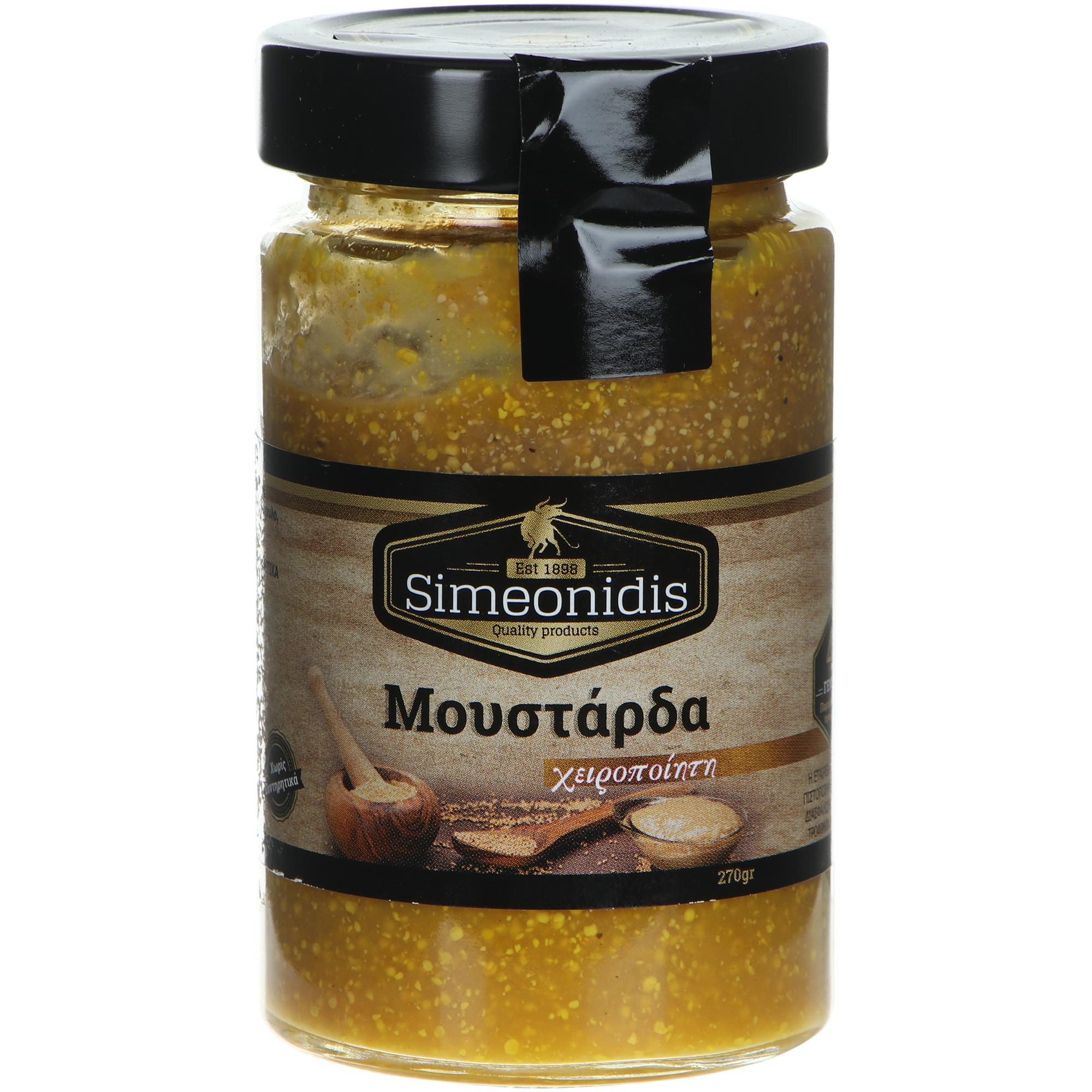 Горчица Simeonidis, 270 г соус чили simeonidis 290 г