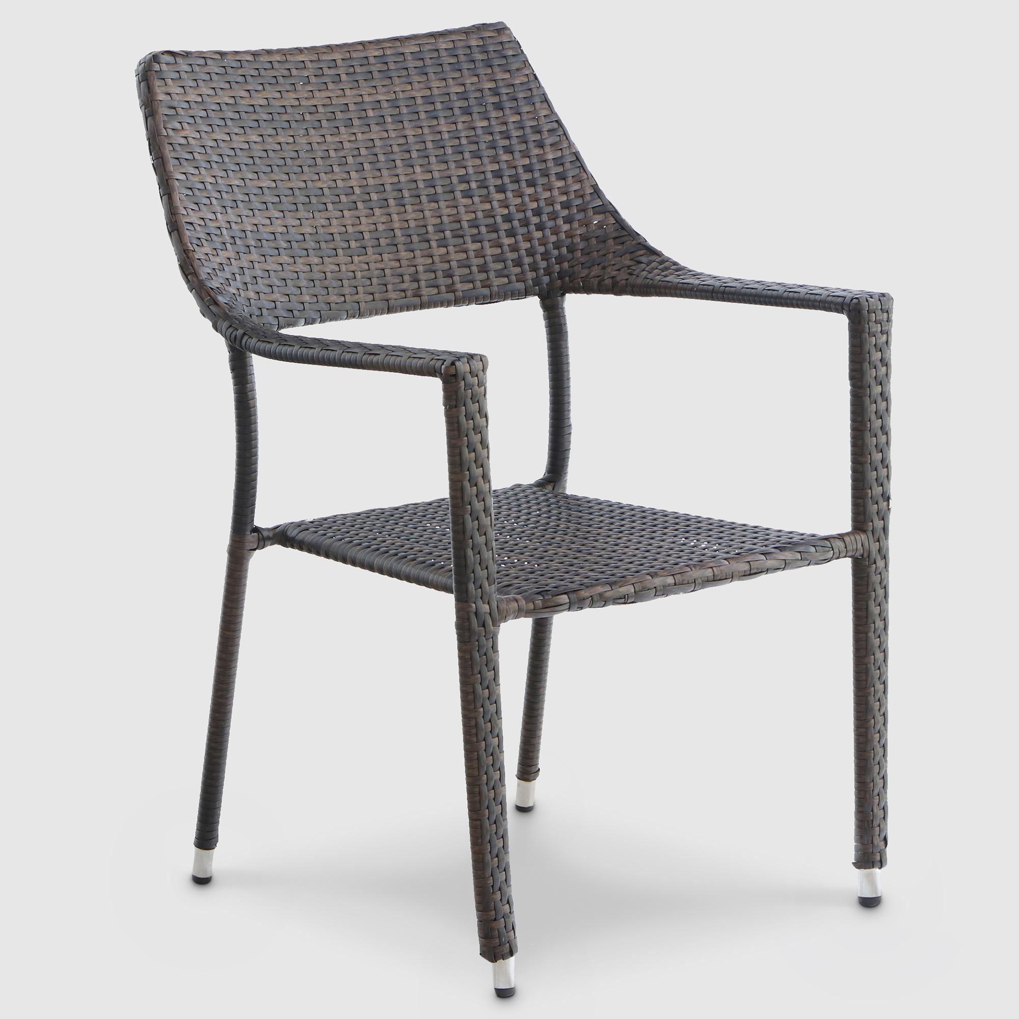 Фото - Кресло Mavi rattan 57x59x87cm темно-коричневое рубашка mavi 021235 620