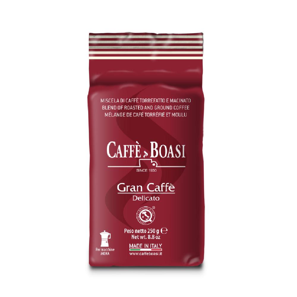 Фото - Кофе молотый Caffe Boasi Gran Caffe Delicato 250 г кофе молотый caffe boasi latina moka 100% arabica 250 г