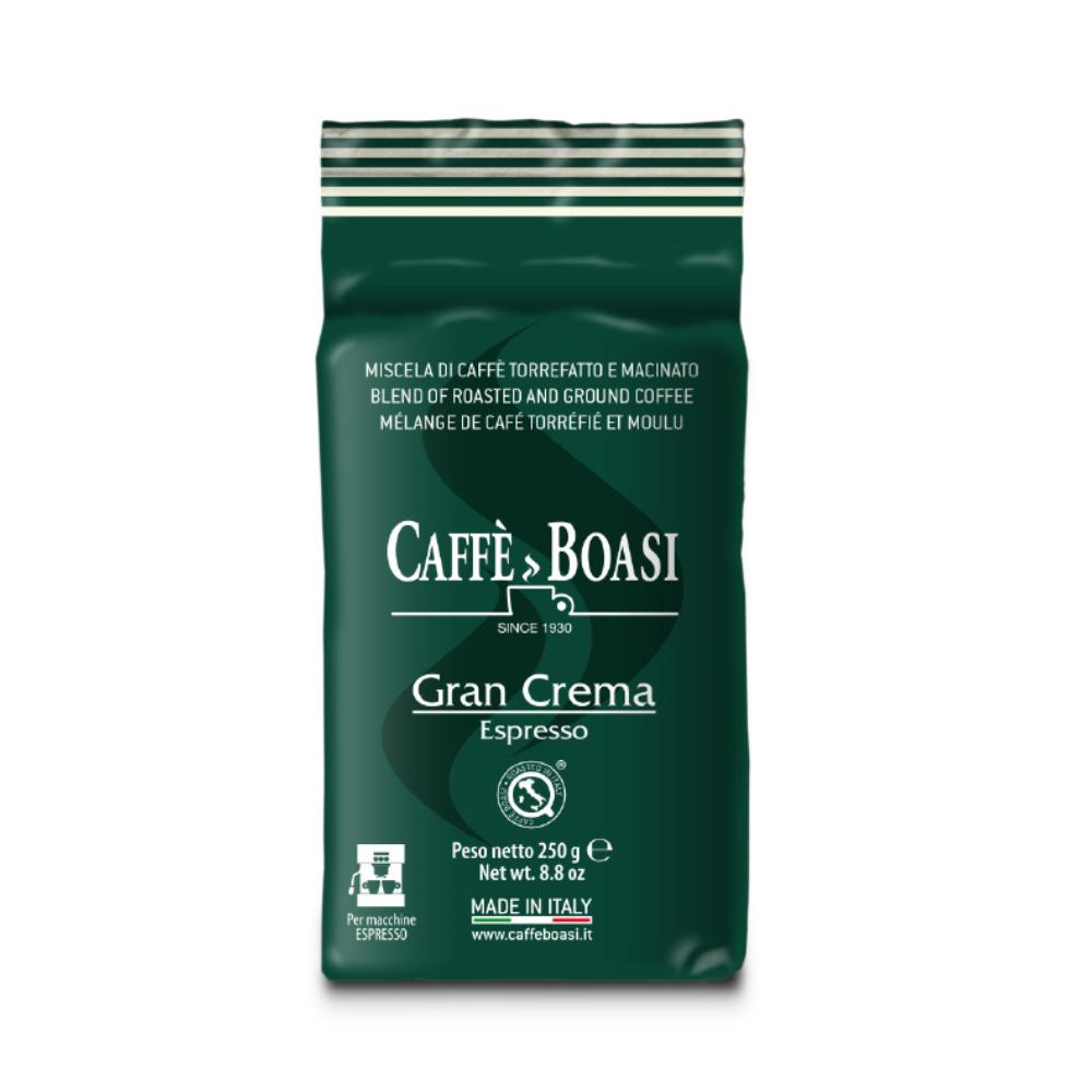 Фото - Кофе молотый Caffe Boasi Gran Crema Aroma Intenso 250 г кофе молотый caffe boasi latina moka 100% arabica 250 г