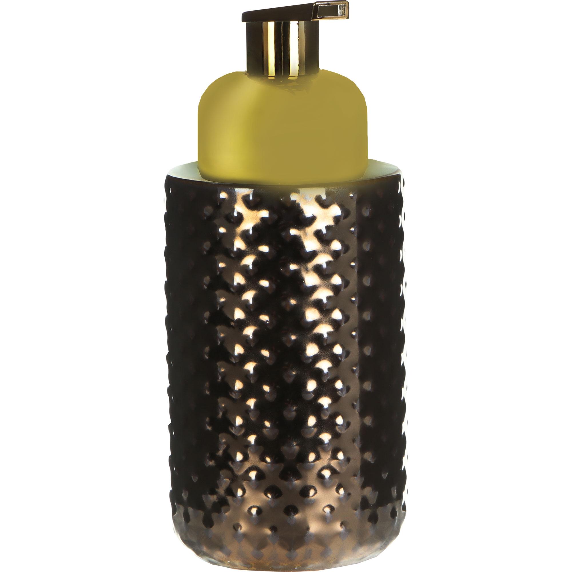 Дозатор для жидкого мыла Wenko sanitary Keo медный (23267100) дозатор для мыла wenko sanitary goa бежевый