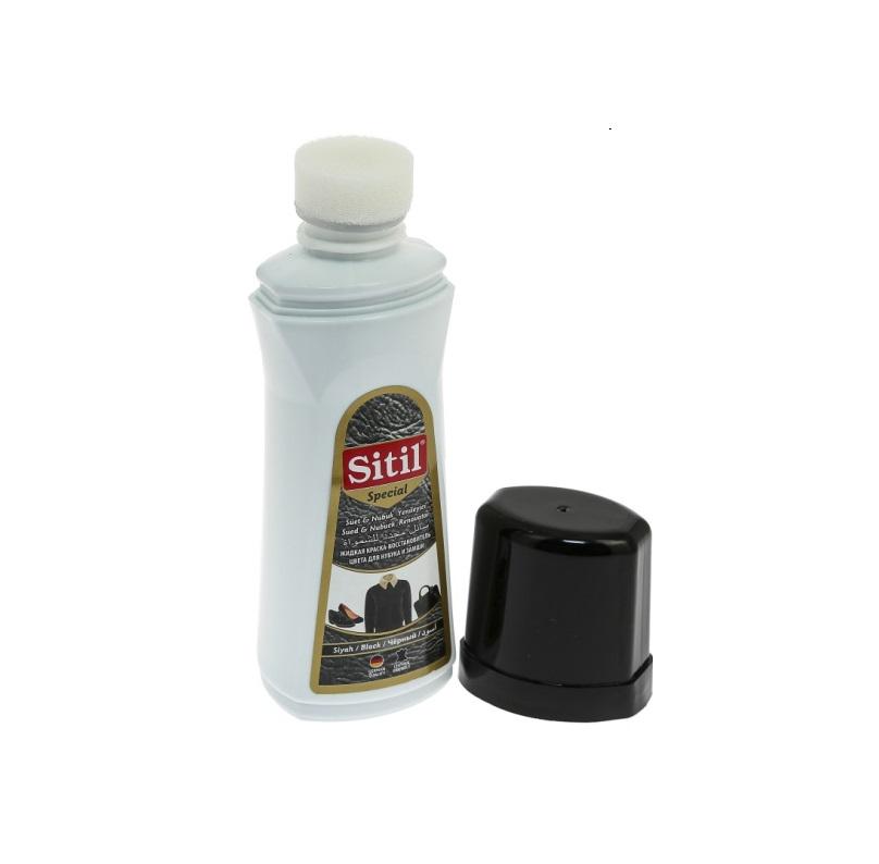Фото - Краска-восстановитель цвета Sitil для замши и нубука черная 100 мл краска восстановитель цвета salamander черная 200 мл