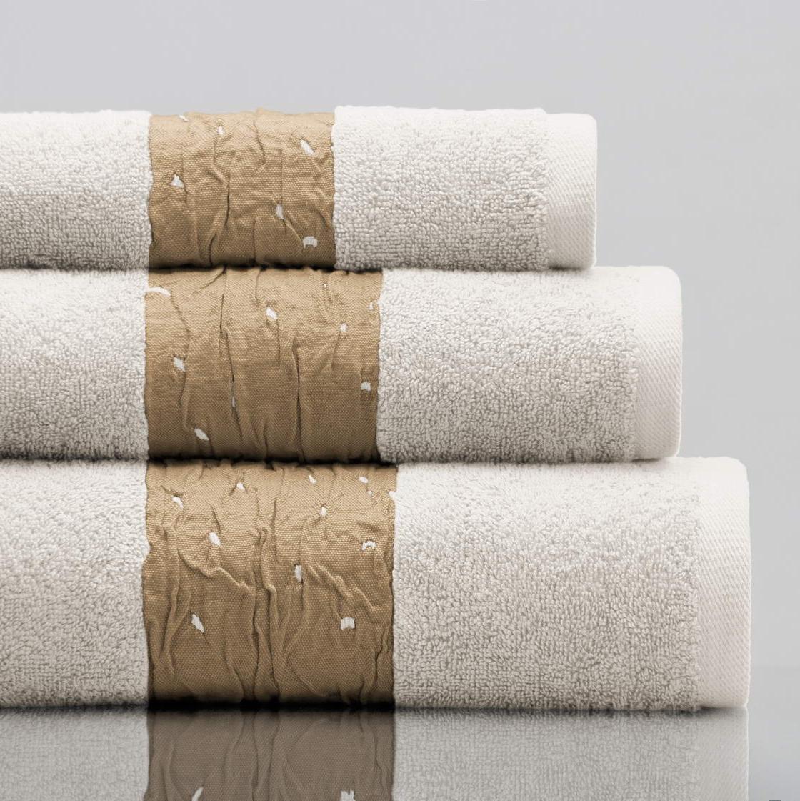 Махровое полотенце Sofi De Marko Molly кремовое 70х140 см полотенце sofi de marko ronald кремовое 70х140 см