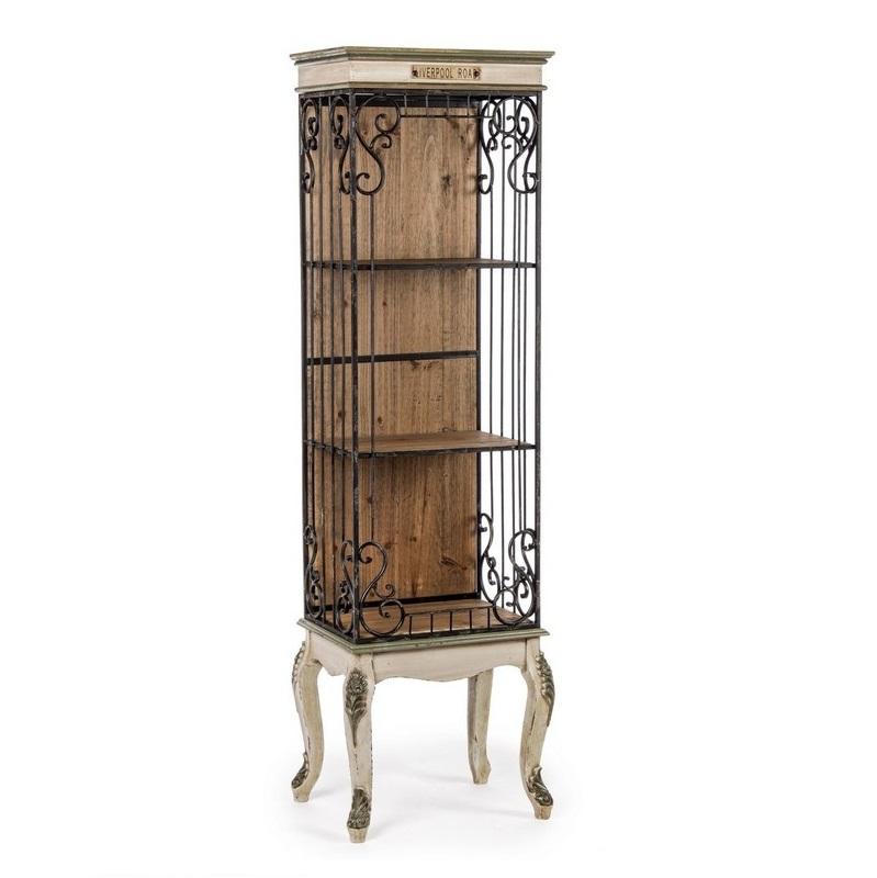 Стеллаж Bizzotto furniture liverpool 46х33х160 см