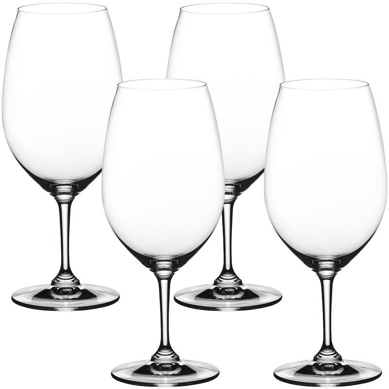 Набор фужеров для красного вина Nachtmann Vivino 4 шт 610 мл набор фужеров для шампанского vivino хрустальное стекло 4 шт 95864 nachtmann