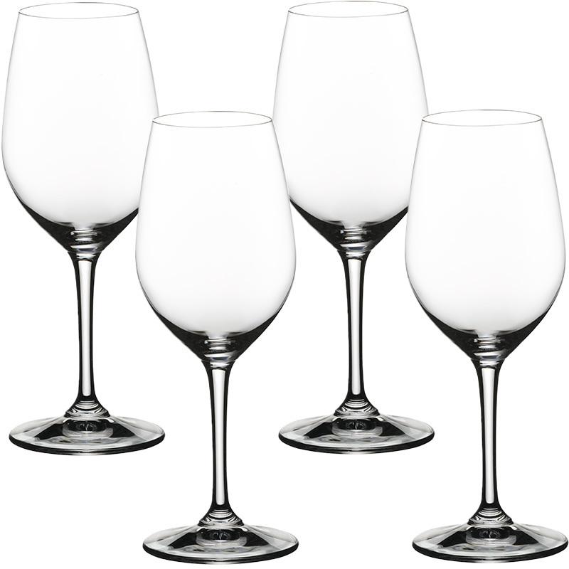 Набор фужеров для белого вина Nachtmann Vivino 4 шт 350 мл набор фужеров для шампанского vivino хрустальное стекло 4 шт 95864 nachtmann