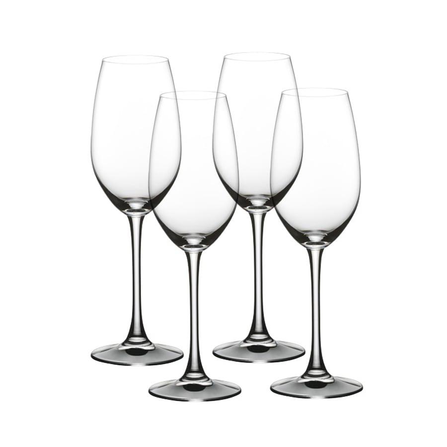 Набор фужеров для шампанского Nachtmann Vivino 4 шт 260 мл набор фужеров для шампанского vivino хрустальное стекло 4 шт 95864 nachtmann