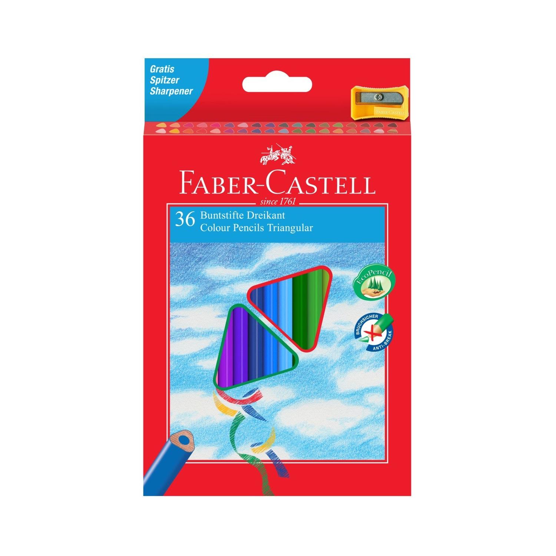 Карандаши цветные Faber-Castell Eco pen с точилкой 36 цветов