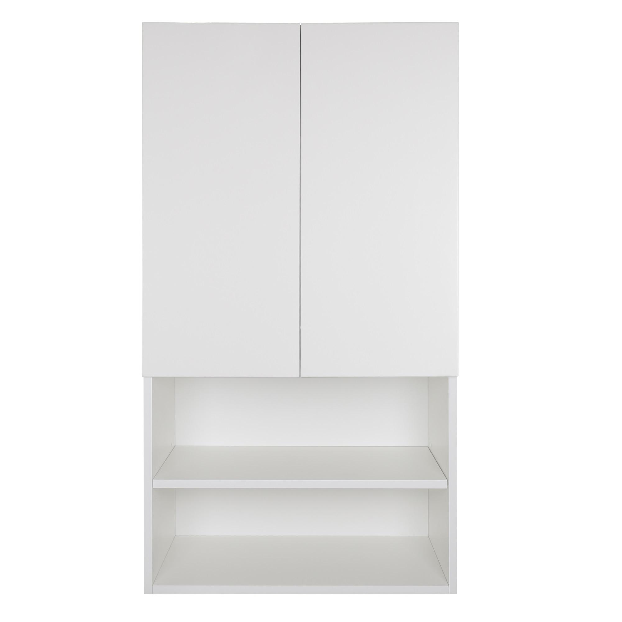 Шкаф над стиральной машиной Мисти Амур 60см, полки, ПВХ