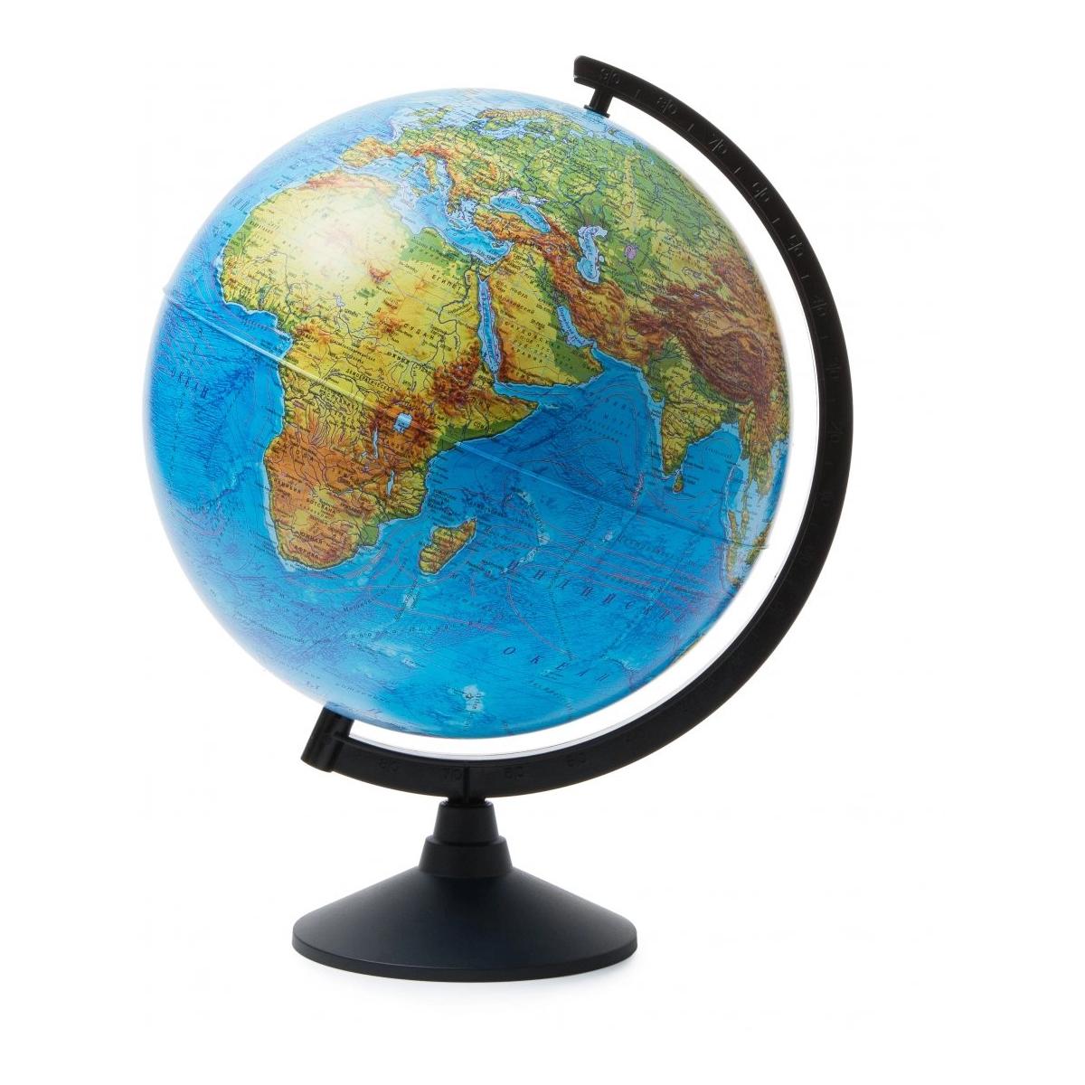 Фото - Глобус Земли Globen физический, 32 см globen глобус земли globen физический с подсветкой 150 мм