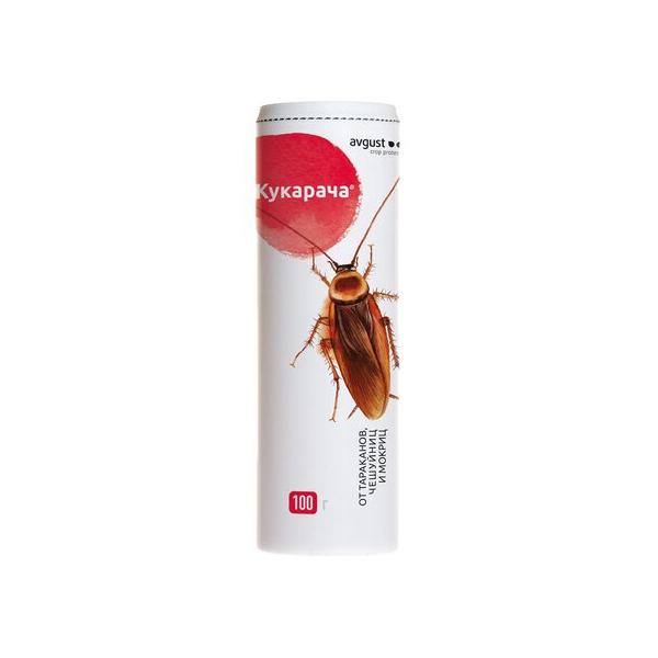 Средство от тараканов Август Кукарача 100 г